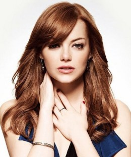 Emma-Stone-Hairstyles-Fantastic-Loose-Curls