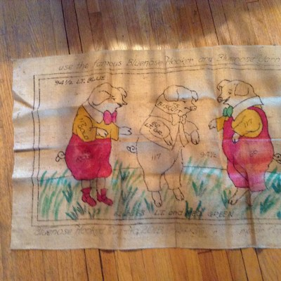 Vintage 3 Little Pigs Pattern