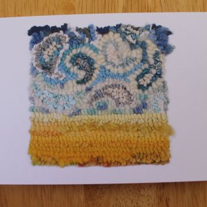 Paisley Prairie Sky Greeting Card