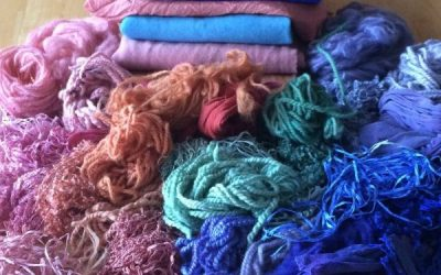 Dyeing for Rug Hooking #1