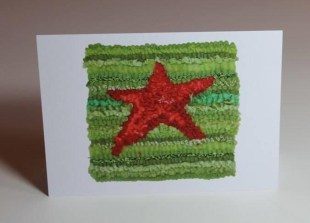 Red Star on Green