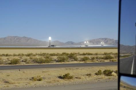 Station solaire qui alimente Las Vegas en électricité