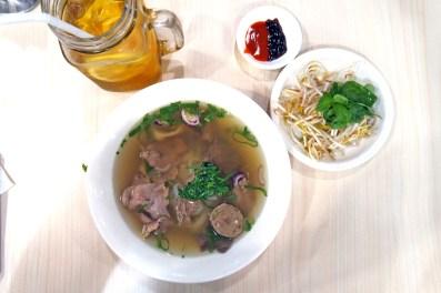 Tra Vinh Vietnamese Restaurant's Combination Beef Noodle Soup