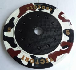 Victory's 5kg bumper plate