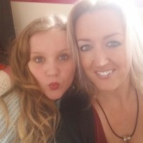 My daughter and granddaughter