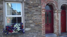 stone house, youghal, doors