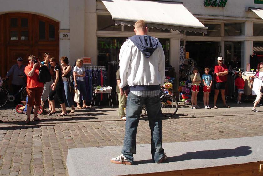 Güstrower Modenschau am Pferdemarkt 2008