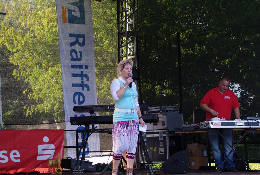 Modenschau Müritzfest Waren Müritz 2011