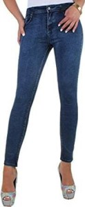 BD Damen High Waist Jeans