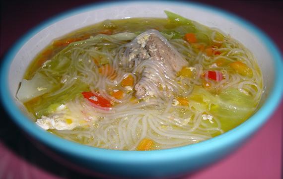 Chicken Sotanghon Soup Recipe   Jean's Filipino Recipes