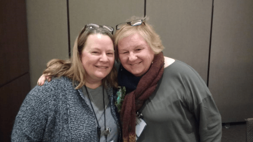 With Lin Oliver at SCBWI 2016