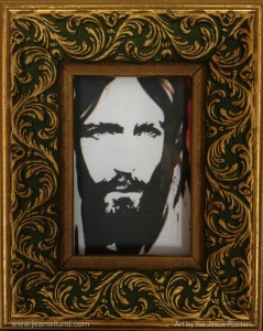 JesusPainterFramed