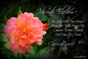 Click to view: What does the Name Jehovah Elohim Say About God? What's in a Name?
