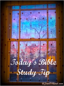 Click the photo to see various posts on Bible Study Tips
