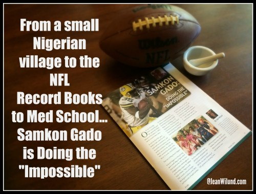 Click photo to read the powerful story of Samkon Gado, who never let the facts interfere with the possibilities.