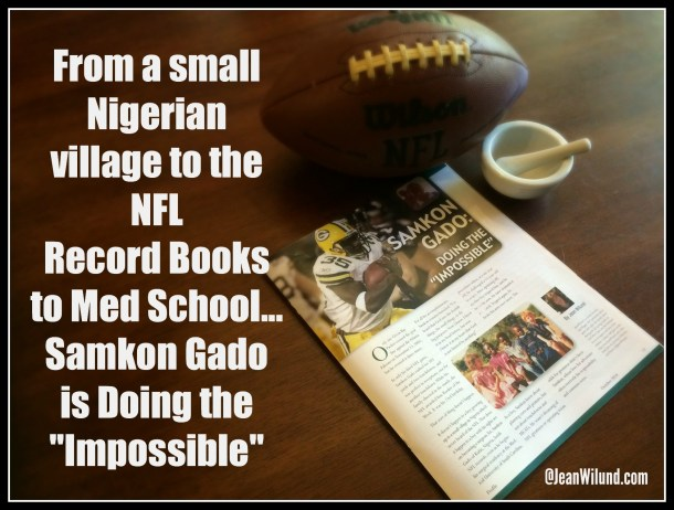 Read the powerful story of Samkon Gado, who never let the facts interfere with the possibilities.