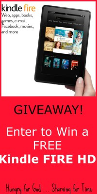 """Enter to win a FREE Kindle Fire HD 7"""""""