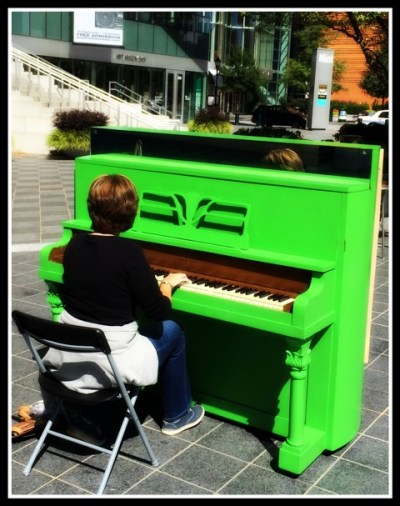 Click to read how God works in unexpected ways, even through Football, Fireworks, & A Big Green Piano (by Leigh Ann Thomas via www.JeanWilund.com)