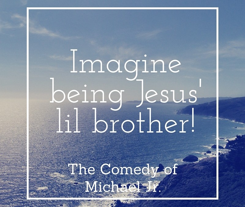 Fun Friday ~ Michael Jr. and Jesus' Lil Brother