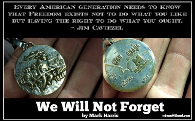 We Will Not Forget. We Must Not Forget.