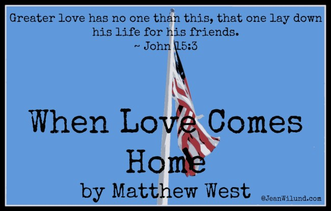 Lyric video of When Love Comes Home by Matthew West & Resources by author Edie Melson