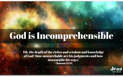 God is Incomprehensible
