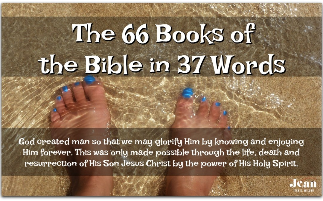 The 66 Books of the Bible in 37 Words