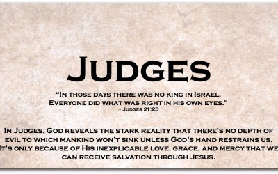 JUDGES — Dipping Our Toes into the Book of Judges