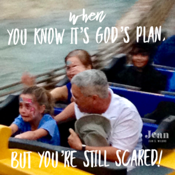 When You Know It's God's Plan But You're Scared Matthew 26:39 - (www.JeanWilund.com)