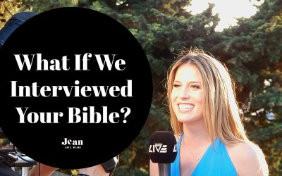 What If We Interviewed Your Bible?