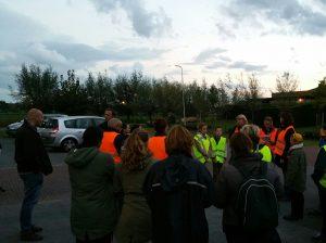 Meer dan 30 inwoners uit de Zuidplas kwamen eerder in Moordrecht af op de oproep om te zoeken naar de hond Foz