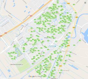Heel Nieuwerkerk wordt volgeplakt