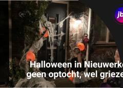 Halloween in Nieuwerkerk, geen optocht, wel griezelen
