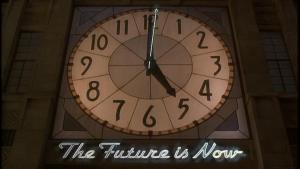 "Hudsucker Industries -- ""The Future is Now"""