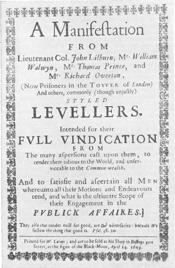 Levellers' Manifest - Wikimedia