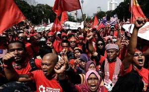 Malay Demonstration
