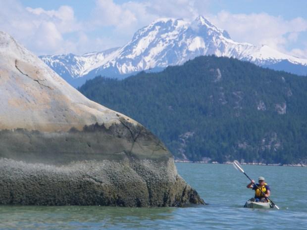 Kayaking on Howe Sound