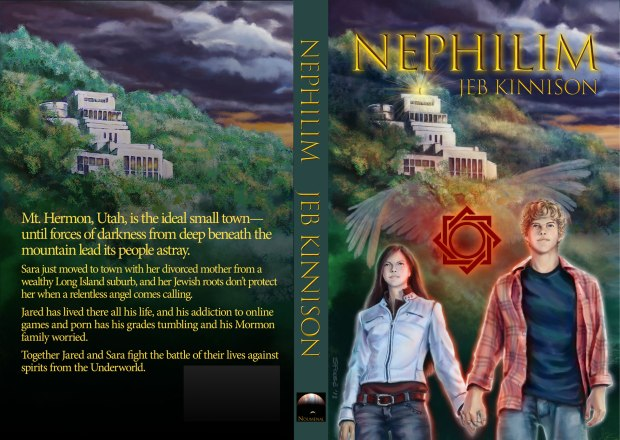 Nephilim Print Cover by Augusta Scarlett, Copyright © 2018 Jeb Kinnison