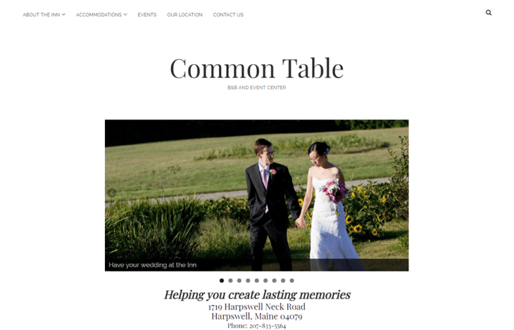 Common Table Inn screenshot