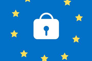 GDPR logo from Pixabay