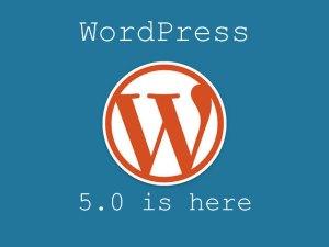 WordPress 5.0 is here