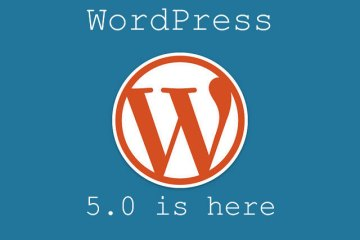 WordPress 5.0 is here