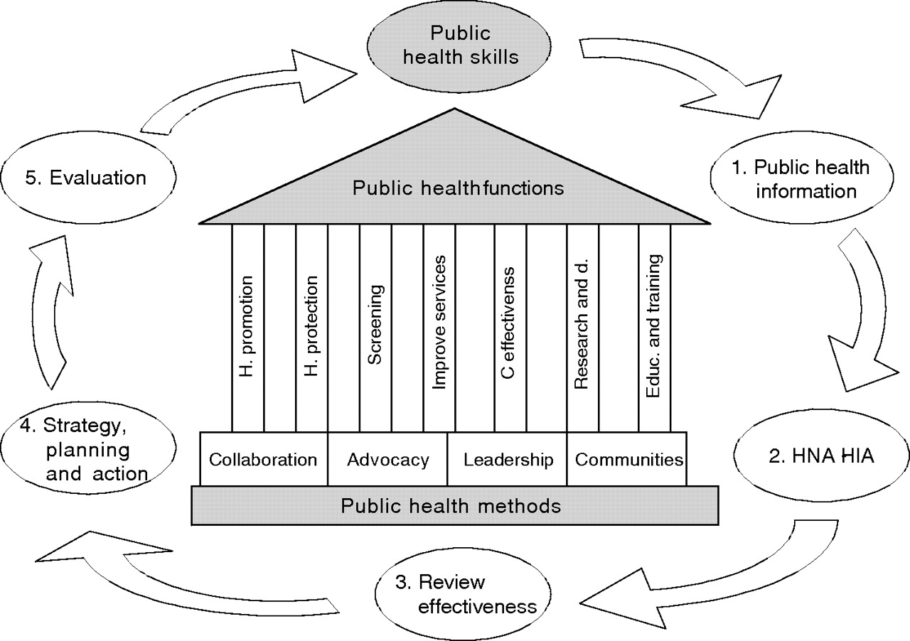 A framework for the delivery of public health: an