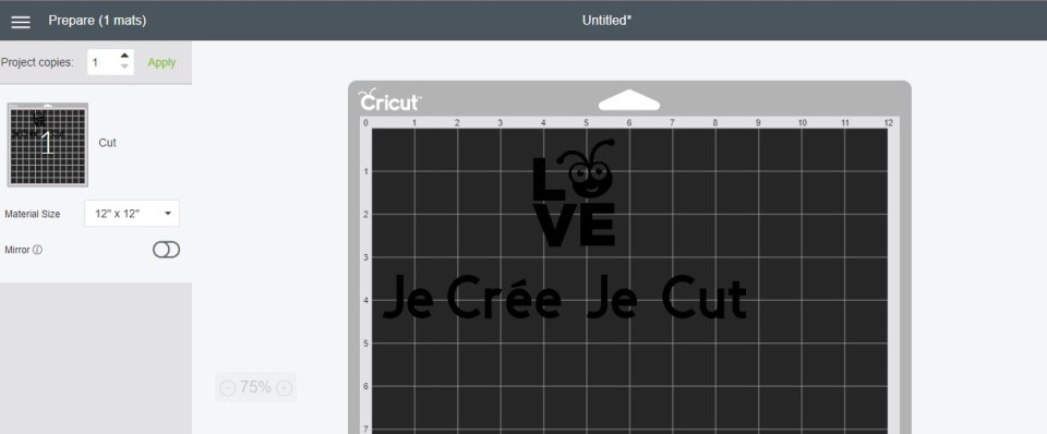 cricut design space attacher tutoriel