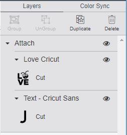 cricut design space attacher tutoriel