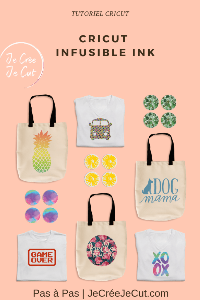 infusible ink cricut français