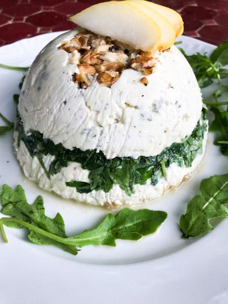 terrine aux fromages de brebis poire