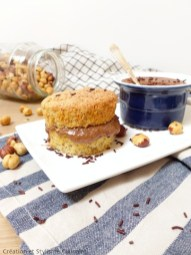 Muffin noisette mousse choco