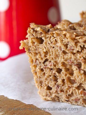 Un pain sans gluten aux graines de lin réalisé avec la levure Alsa Briochin