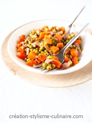 Petits pois carottes maison 2